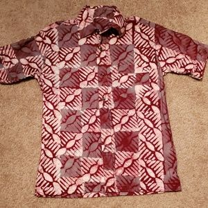 Mens 4 The Culture ✊🏽 African Print Shirt S/M